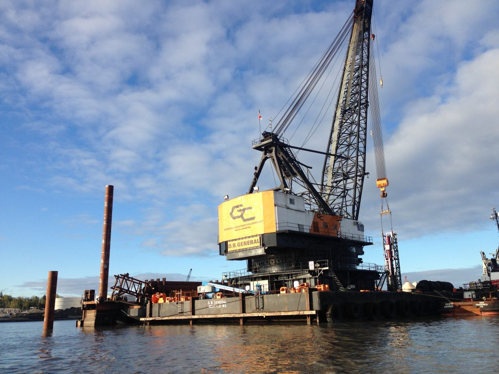 Anchorage Piling Project, Anchorage, Alaska