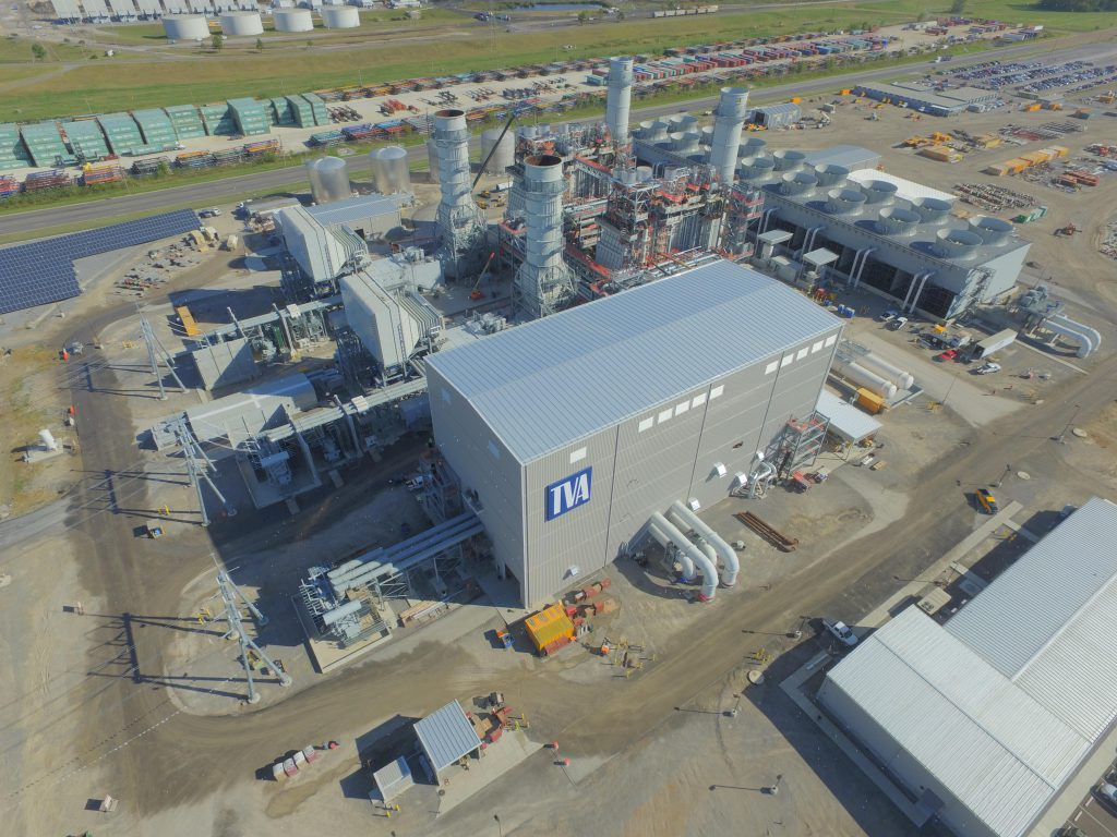 Allen combined-cycle plant