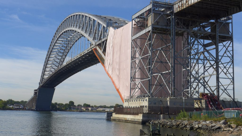 Construction is underway in New York and New Jersey to raise the Bayonne Bridge by 64 feet in order to accommodate new, larger Post-Panamax vessels that will travel through the widened Panama Canal in Central America.