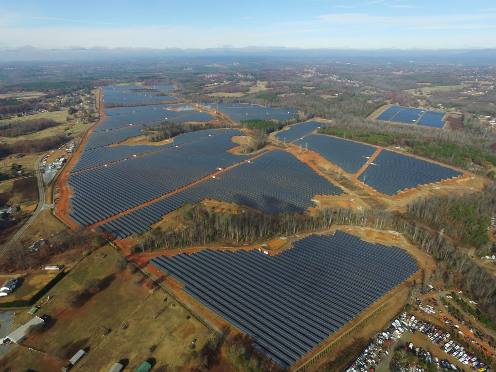 Rutherford Solar project