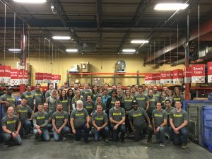 Kiewit Feeds KC supported Harvesters Community Food Network, a regional food bank serving a 26-county area of northwestern Missouri and northeastern Kansas.