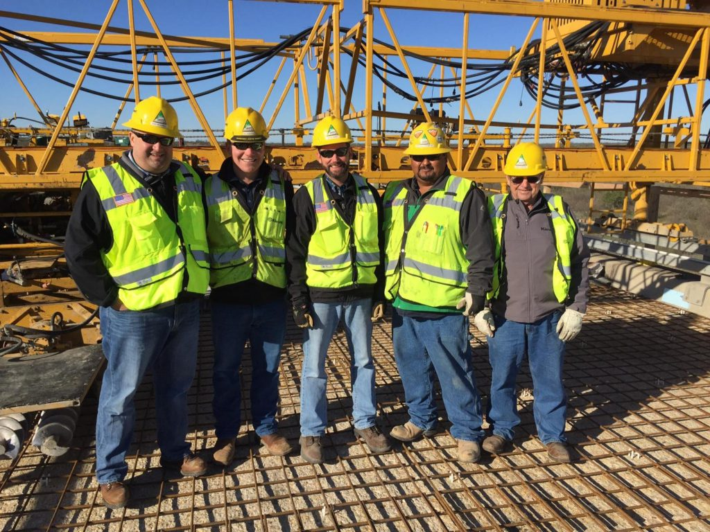 Kiewit managers said a key to their success in West Texas was the hard work of their people and their willingness to work in remote locations.