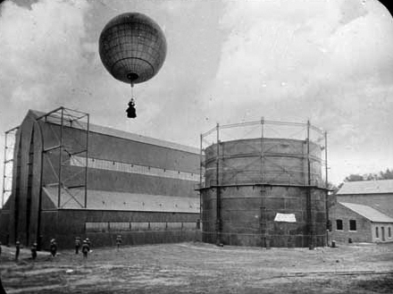 "When Metropolitan Community College acquired portions of Fort Omaha in 1975, it came with a rich history. Some of the site's uses in the past include a supply fort, home to the Army Signal Corps, and ""one of the largest training centers for observation balloon crews"" during World War I."