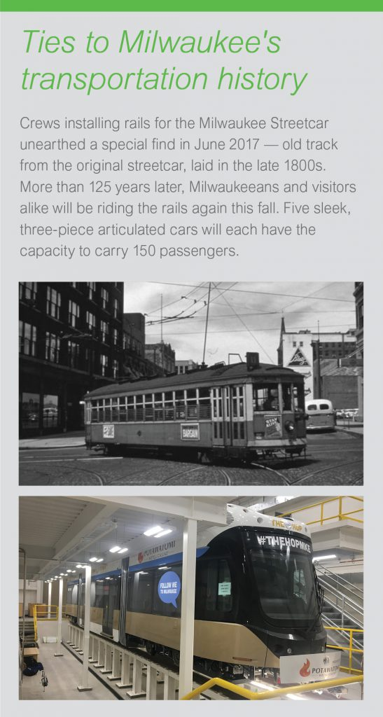 Ties to Milwaukee's transportation history